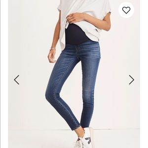 Madewell Maternity Over Belly Jeans Danny Wash